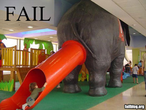 Image Wars! Fail-owned-elephant-slide-f