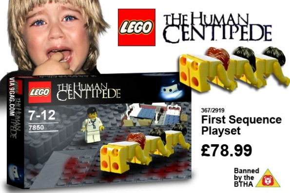 The Lego Centipede